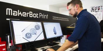 Фото 3д принтер Makerbot 1