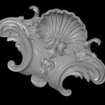 Фото 3D сканирования барельефа 5