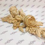 Фото 3D-сканирования элемента декора 3
