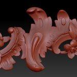 Фото 3D-сканирования элемента декора 6