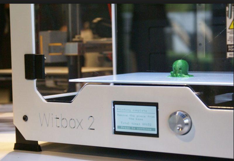 Фото 3D принтер BQ WitBox 2 2