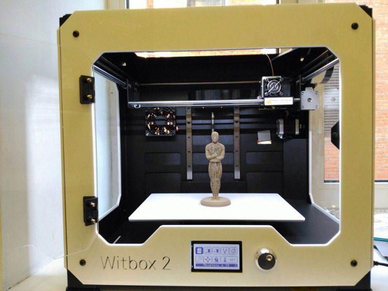 Фото 3D принтер BQ WitBox 2 4