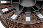 Нить для 3D-принтера ABS пластик REC 1,75 мм коричневый