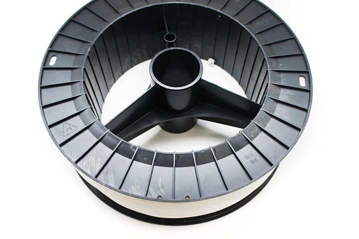 Фотография нить для 3D-принтера ABS пластик REC 1,75 мм натуральный 2 кг