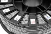 Нить для 3D-принтера ABS пластик REC 1,75 мм серебристый
