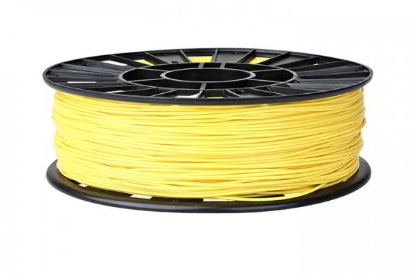 Фото нить для 3D-принтера ABS пластик REC 1,75 мм жёлтый