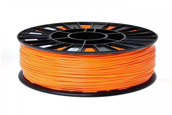 Фото нить для 3D-принтера ABS пластик REC 2,85 мм оранжевый