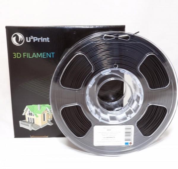 Фотография нить для 3D-принтера ABS пластик U3Print anthracite (черный)