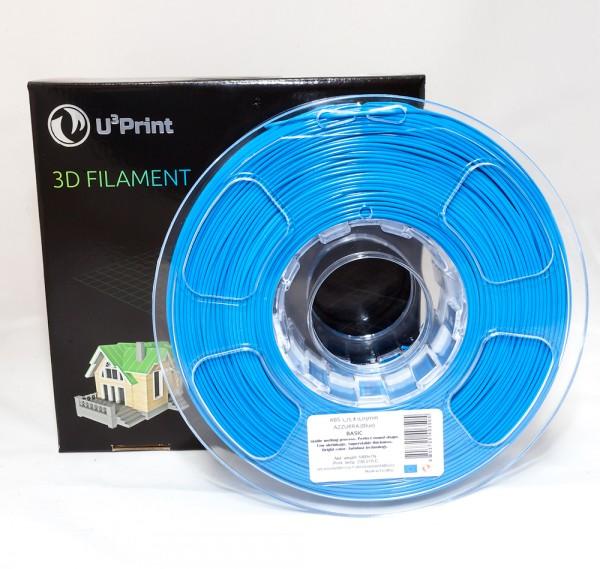 Фотография нить для 3D-принтера ABS пластик U3Print azzure (синий)