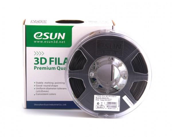 Фото Нить для 3D-принтера eSUN 3D FILAMENT PLA BLACK 1.75 мм
