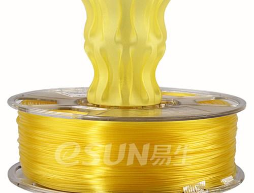 Фото Нить для 3D-принтера eSUN 3D FILAMENT PLA Glass Lemon Yellow 1.75 мм