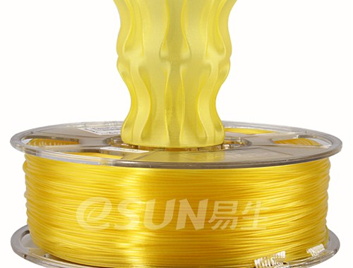 Фото Нить для 3D-принтера eSUN 3D FILAMENT PLA Glass Lemon Yellow 3.00 мм