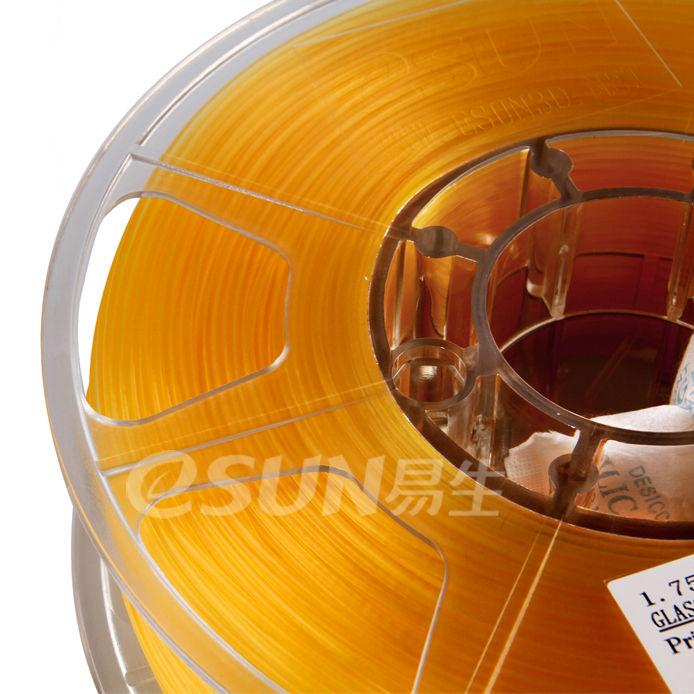 Фото Нить для 3D-принтера eSUN 3D FILAMENT PLA Glass Orange 3.00 мм