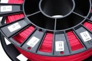 Нить для 3D-принтера FLEX пластик REC 2.85 мм красный