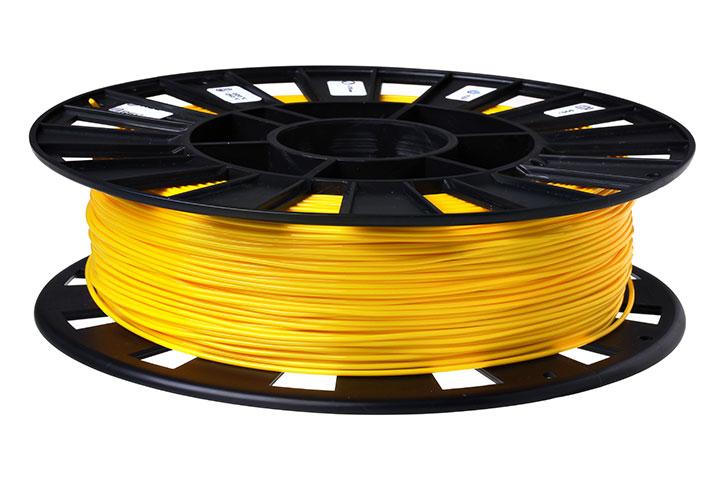 Изображение нить для 3D-принтера FLEX пластик REC 2.85 мм жёлтый