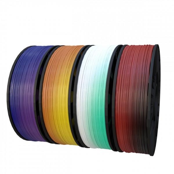 Фотография нить для 3D-принтера PLA пластик CyberFiber переходный