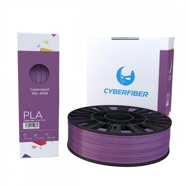 Фотография нить для 3D-принтера PLA пластик CyberFiber сиреневый