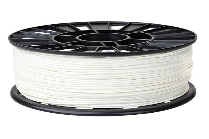 Изображение нить для 3D-принтера PLA пластик REC 1.75 мм белый