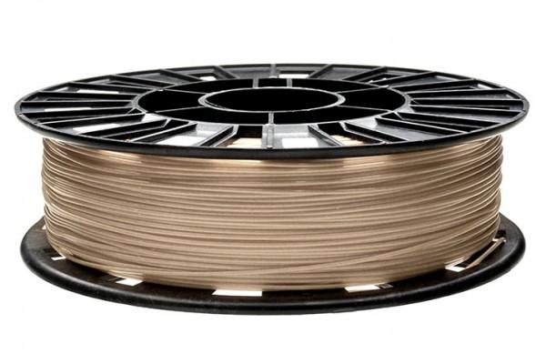 Изображение нить для 3D-принтера PLA пластик REC 1.75 мм бежевый