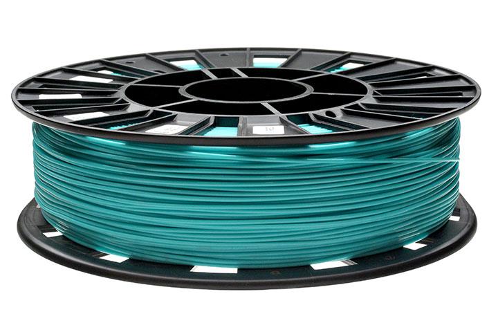 Изображение нить для 3D-принтера PLA пластик REC 1.75 мм бирюзовый