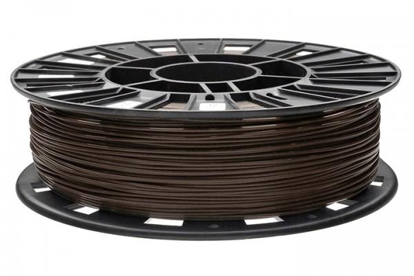 Фото нить для 3D-принтера PLA пластик REC 1.75 мм коричневый