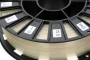 Нить для 3D-принтера PLA пластик REC 1.75 мм натуральный