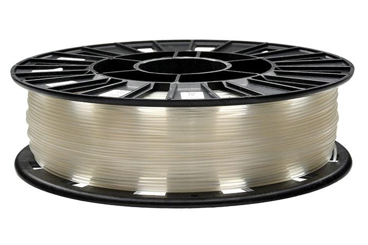 Фотография нить для 3D-принтера PLA пластик REC 1.75 мм натуральный