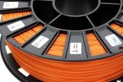 Нить для 3D-принтера PLA пластик REC 1.75 мм оранжевый