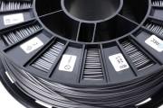 Нить для 3D-принтера PLA пластик REC 1.75 мм серебристый металлик
