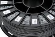 Нить для 3D-принтера PLA пластик REC 1.75 мм серый