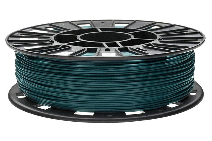 Фото нить для 3D-принтера PLA пластик REC 1.75 мм тёмно-зелёный