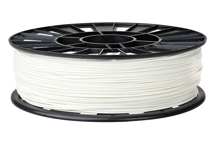 Фотография нить для 3D-принтера PLA пластик REC 2.85 мм белый