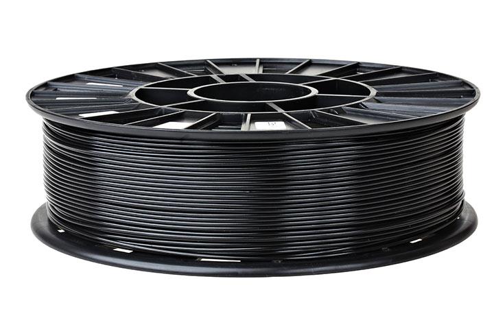 Изображение нить для 3D-принтера PLA пластик REC 2.85 мм чёрный