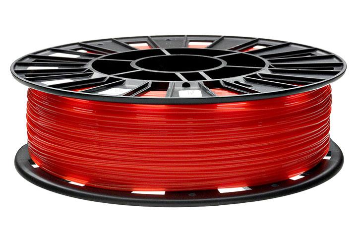 Фото нить для 3D-принтера PLA пластик REC 2.85 мм красный