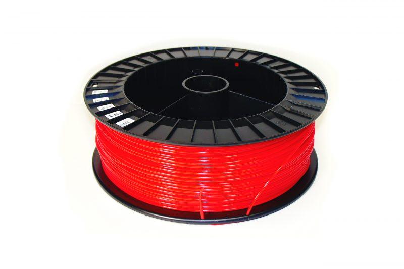 Фото нить для 3D-принтера PLA пластик REC 2.85 мм красный 2 кг