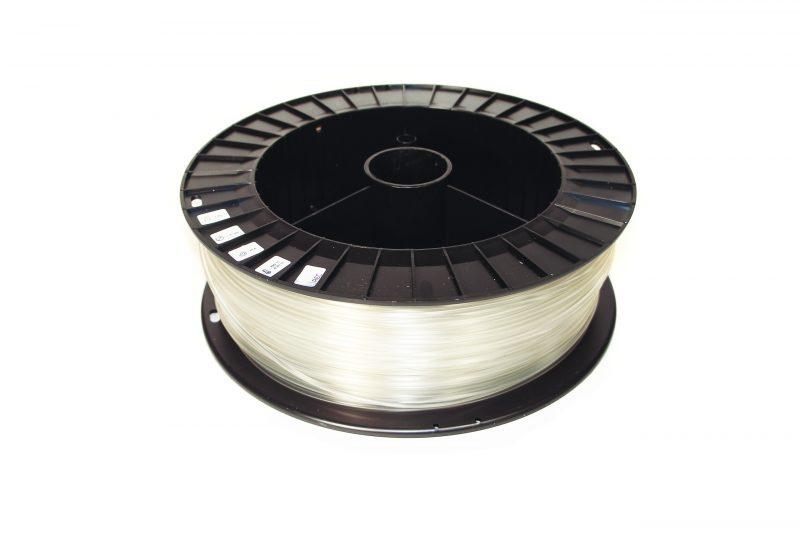 Фото нить для 3D-принтера PLA пластик REC 2.85 мм натуральный 2 кг