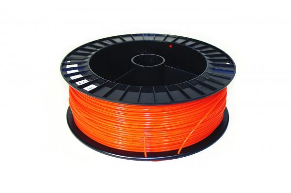Фото нить для 3D-принтера PLA пластик REC 2.85 мм оранжевый 2 кг
