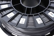 Нить для 3D-принтера PLA пластик REC 2.85 мм серебристый металлик