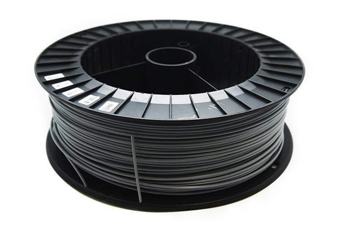 Фото нить для 3D-принтера PLA пластик REC 2.85 мм серый 2 кг