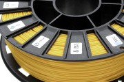 Нить для 3D-принтера PLA пластик REC 2.85 мм жёлтый