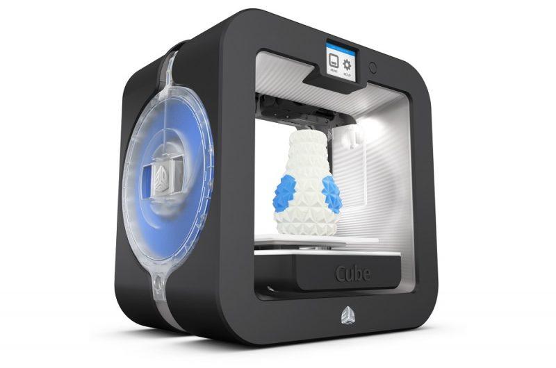 Фотография персонального 3D-принтера 3DSystem Cube 3