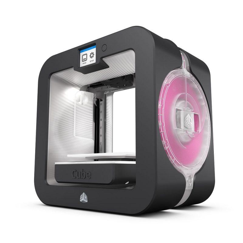 Фотография персонального 3D-принтера 3DSystem Cube 4