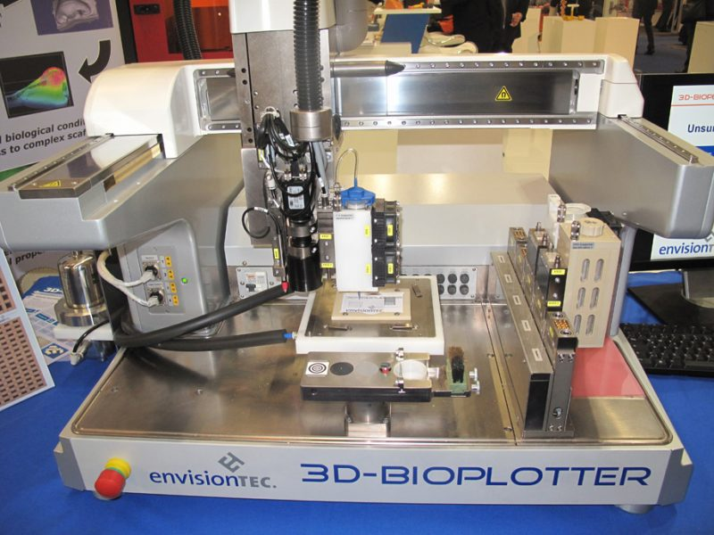Фото 3D принтера EnvisionTEC 3D Bioplotter 3