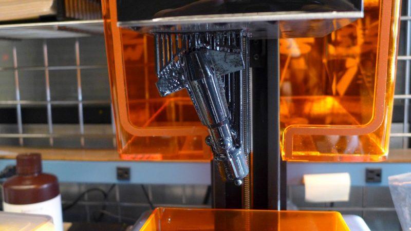 Фото 3D принтера Formlabs Form 1+ 6