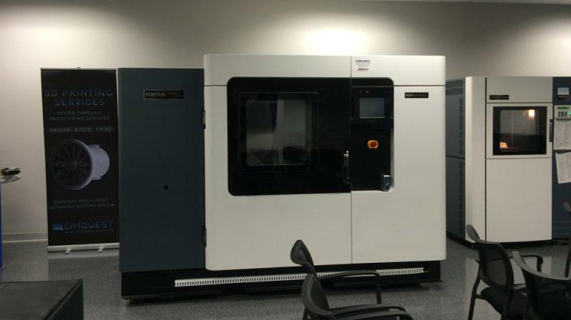 Фото 3D принтера Stratasys Fortus 900mc 3