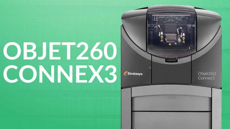 Фото 3D принтера Stratasys Objet260 Connex3 3