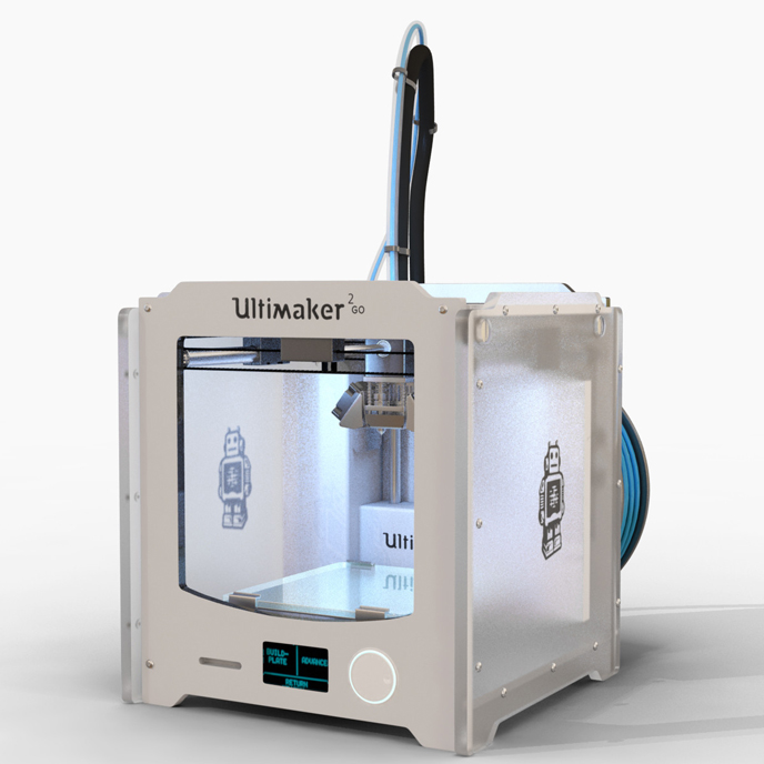 Фотография 3D принтера Ultimaker 2 Go (3)