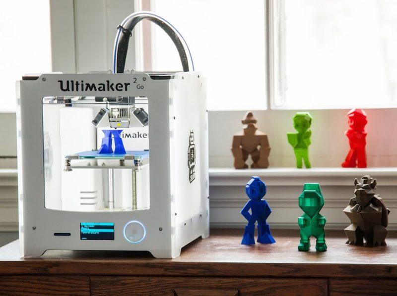 Фотография 3D принтера Ultimaker 2 Go (5)