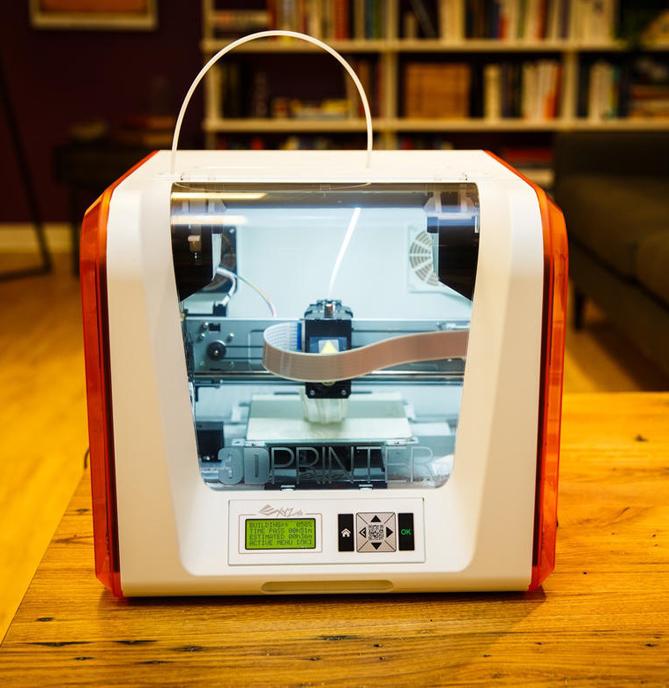 Фотография 3D принтера XYZprinting Da Vinci Junior (2)