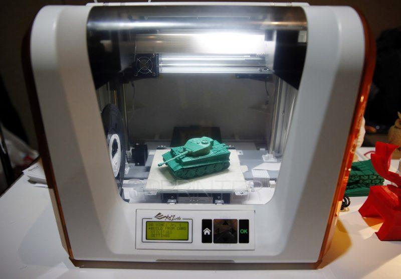 Фотография 3D принтера XYZprinting Da Vinci Junior (5)